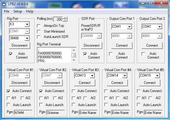 Radio-Computer Interface